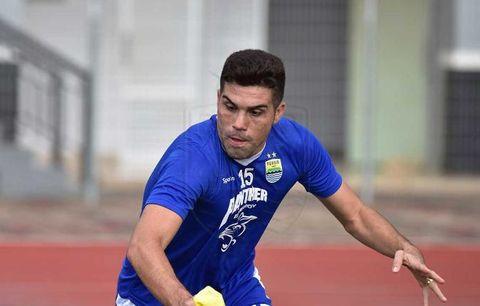 Fabiano Beltrame Dapat Pujian Dari Manajer Persib Bandung