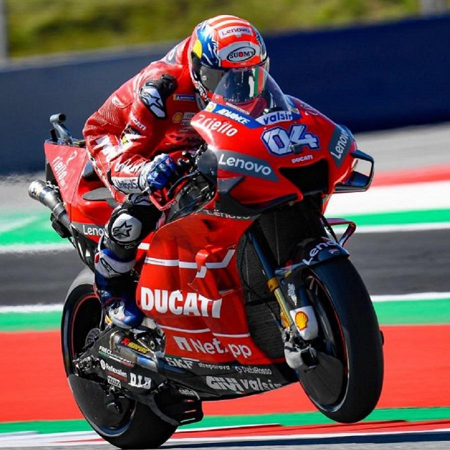 Biar Melambat, Andrea Dovioso Masih puncaki Klasemen MotoGP