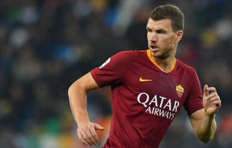 Dzeko Tetap Dibawa Roma melawan Verona walaupun akan ke Juventus