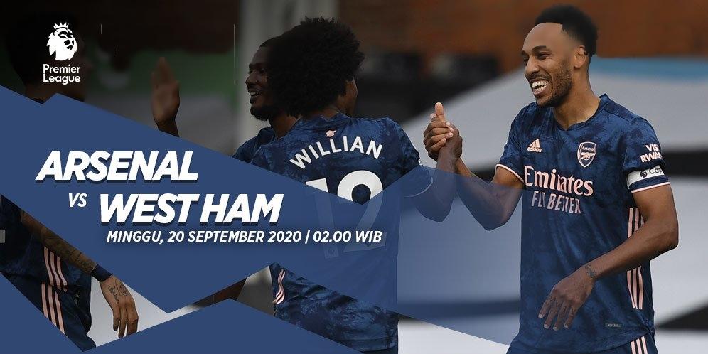 Prediksi Premier League 20 September 2020, Arsenal Vs West Ham