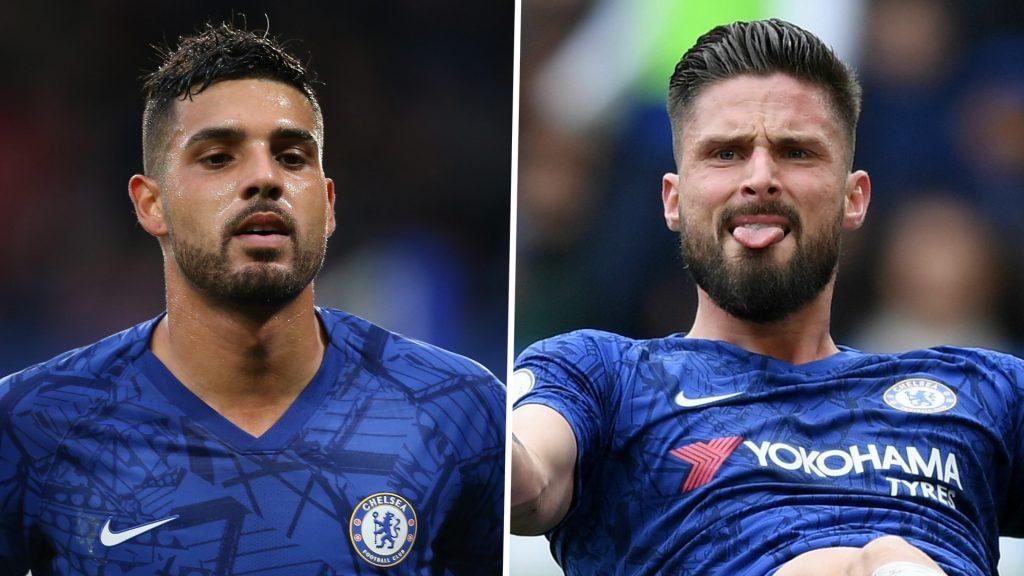 Inter Milan akan Rekrut Emerson dan Olivier Giroud dari Chelsea
