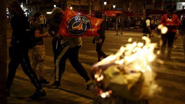 Rasa Kecewa Pemain PSG Juga Turut Dirasakan Fans Yang Berujung Anarkis