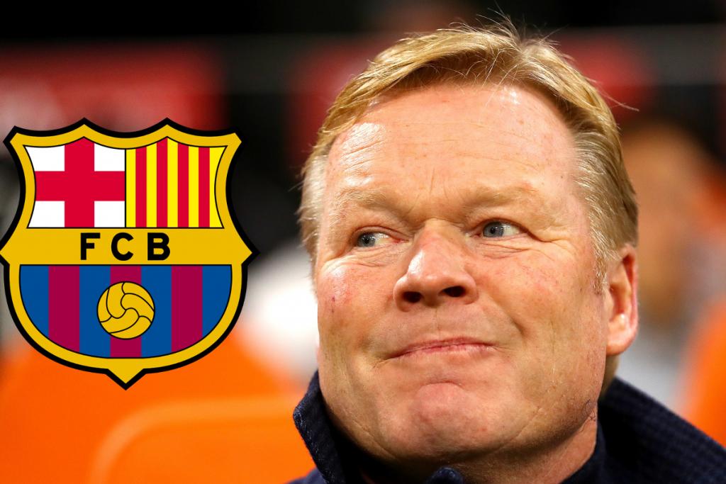 Ronald Koeman saat ini Setuju untuk melatih Barcelona