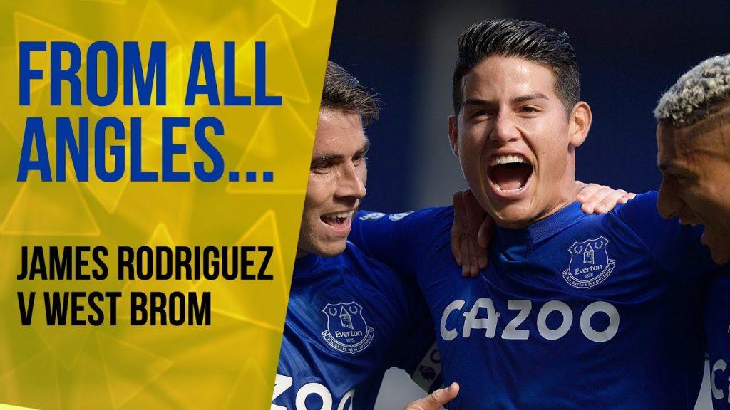 Terungkap, James Rodriguez Direkrut Secara Gratis Oleh Everton