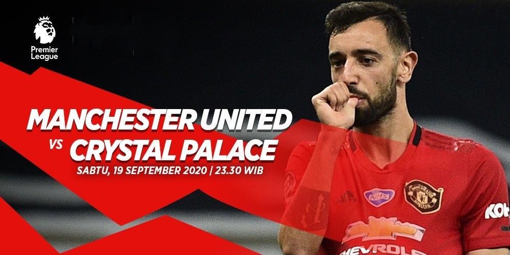 Prediksi MU vs Crystal Palace, Sabtu (19/9) Pekan ke-2 Premier League