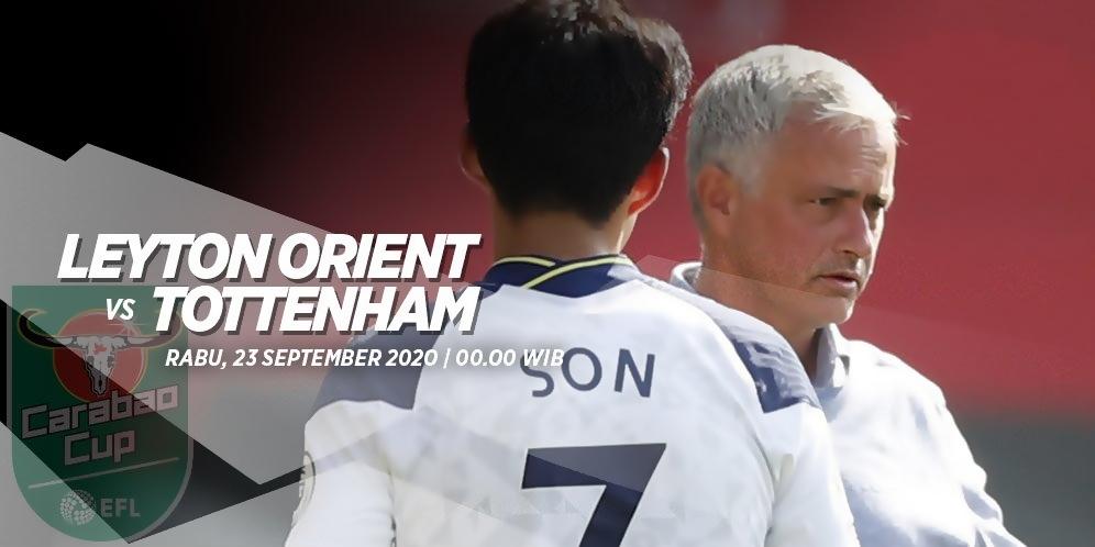 Prediksi Laga Carabao Cup 2020/21, Leyton Orient vs Tottenham Hotspur
